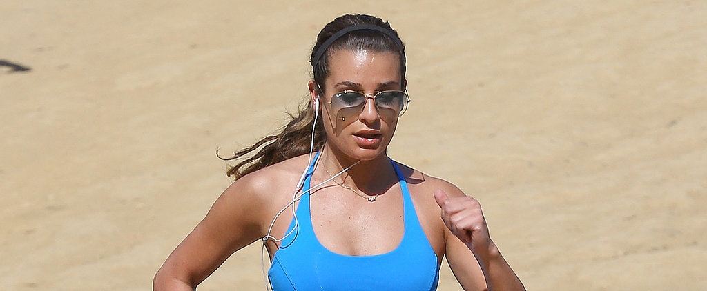 9 Ways Lea Michele Inspires Us to Get Moving Every Day