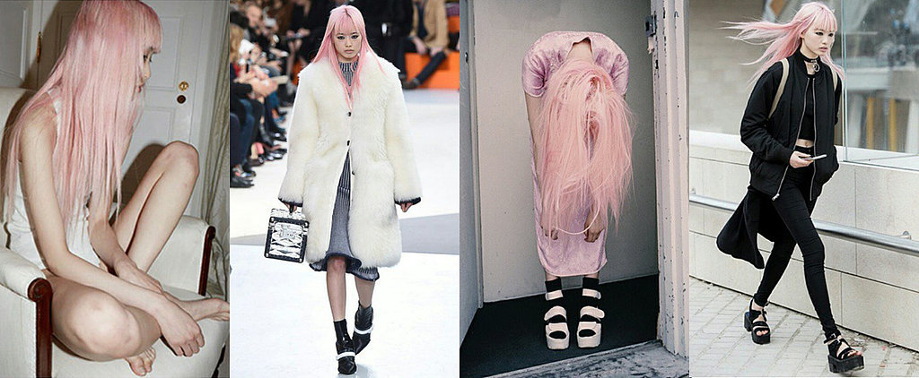 The Girl With Pink Hair and Why She's on Everyone's Radar