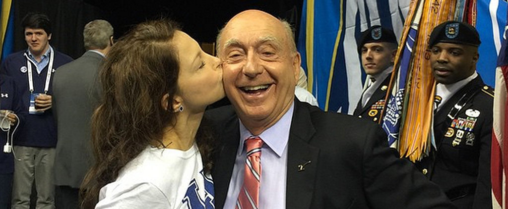 Ashley Judd Spreads the Kentucky Love With a Kiss That Blew Up Social Media