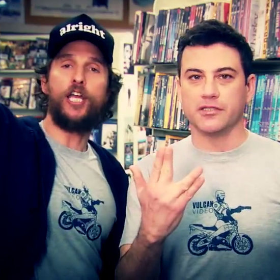 Jimmy Kimmel and Matthew McConaughey Video Store Commercial