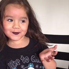 Child Makeup Vlogger Video