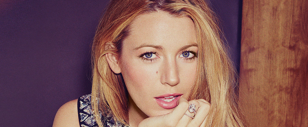 Blake Lively De-Stresses by Knitting and . . . Fixing Motorcycles?