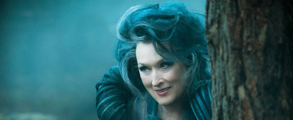 Into the Woods Exclusive: How Meryl Streep Actually Wore Very Little Makeup as Witch