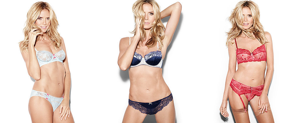 Exclusive: Heidi Klum Gives Her Tips and Tricks For Finding the Perfect Lingerie