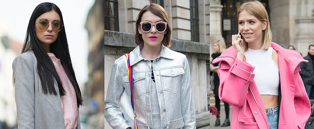 6 Street Style Looks That Are Pretty in Pink