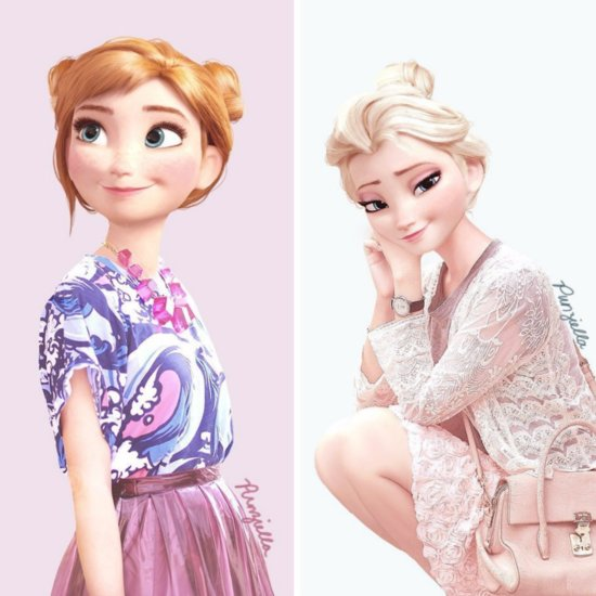 Disney Characters Spotted in Regular Clothes