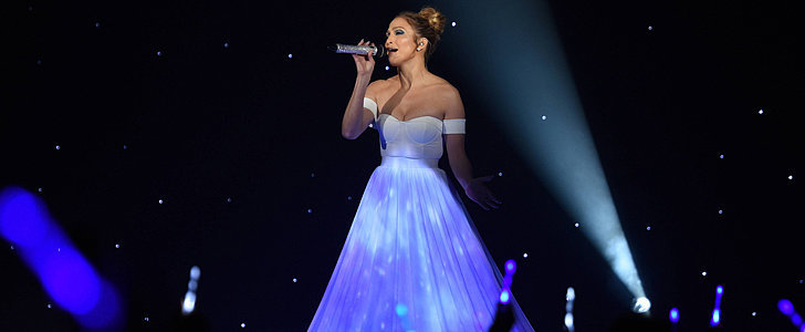 Jennifer Lopez Is a Dreamy Vision on American Idol