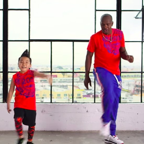 Cute Kid Aidan Prince Dancing in Pitbull Zumba Video
