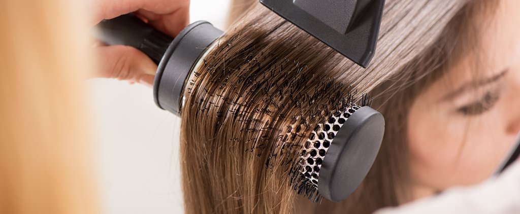An Easy Solution For Cleaning Old Hair Out of Round Brushes