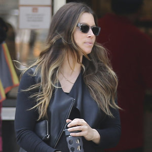 Pictures of Pregnant Jessica Biel in LA