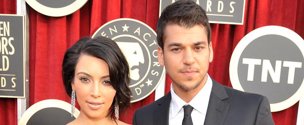 Rob Kardashian Shares a Disturbing Instagram About His Sister Kim