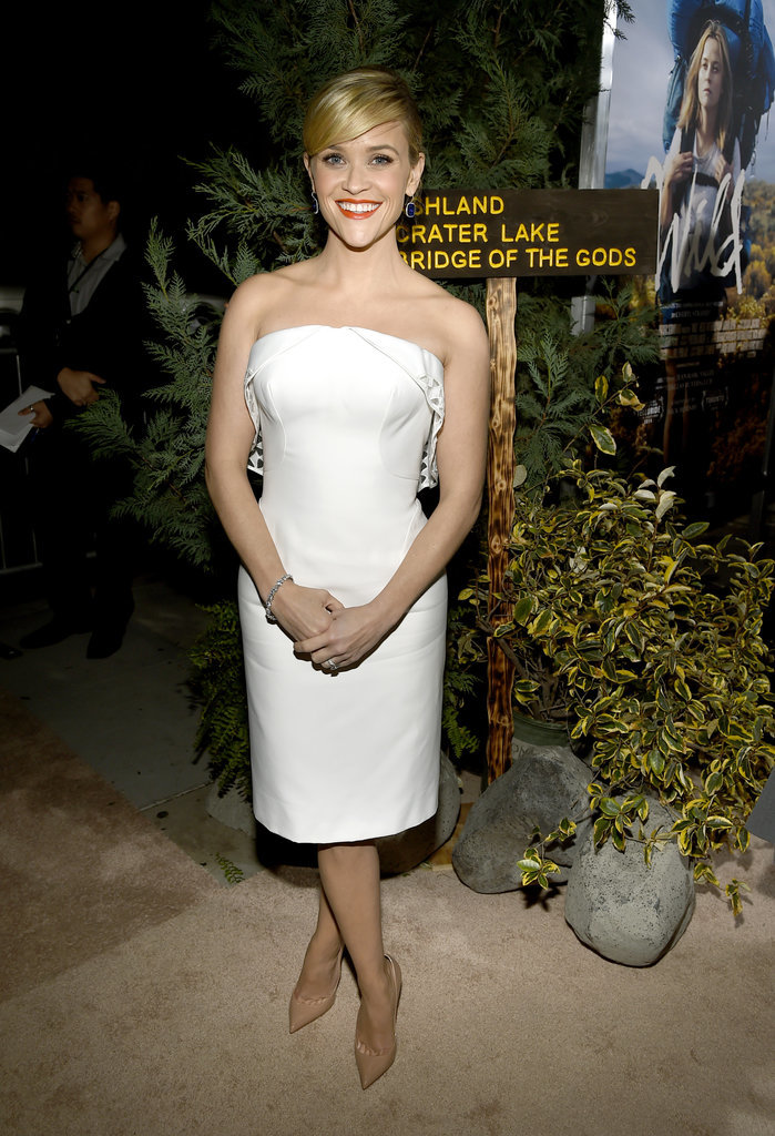 The actress showed off her megawatt smile at the premiere of Wild in November 2014.