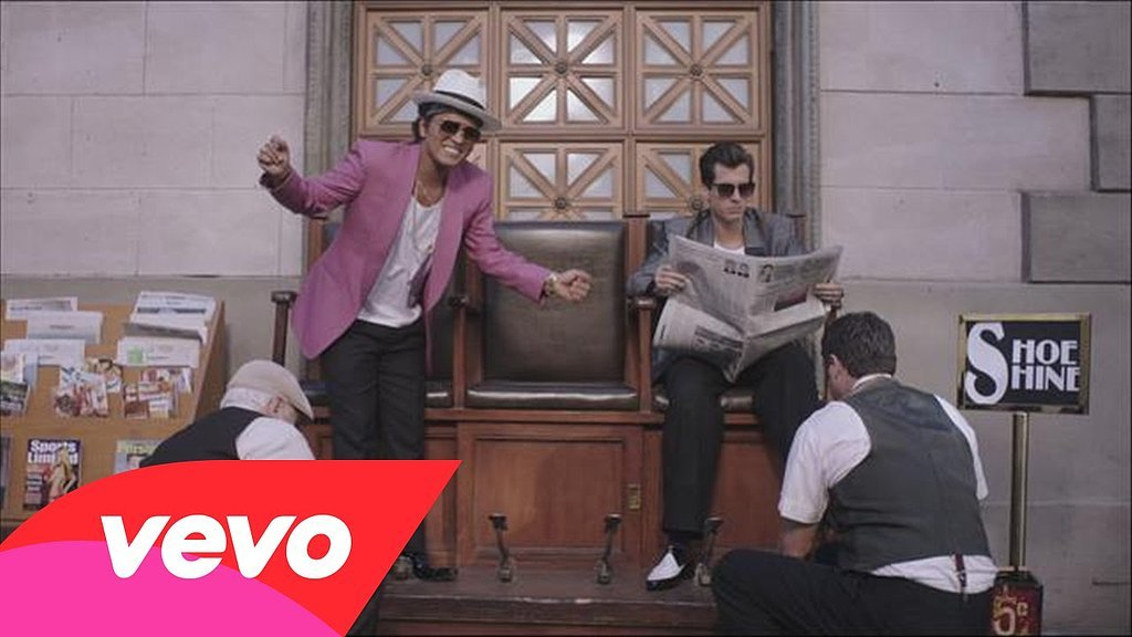 """Uptown Funk"" by Mark Ronson featuring Bruno mars"