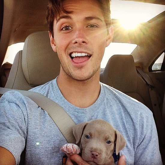 32 Hot Dudes Playing With Puppies (Need We Say More?)