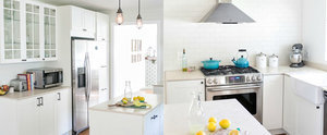 A Dark and Dated Kitchen Gets a Budget-Friendly Transformation