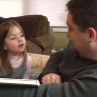Girl's Funny Reaction to Finding Out She's a Big Sister