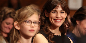 Violet Affleck Supports Her Dad At Senate Hearing