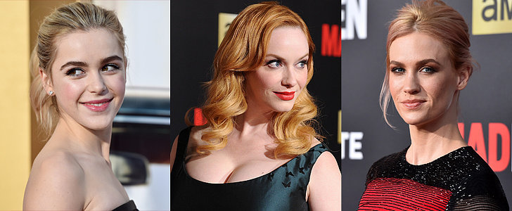 The Mad Men Cast Left '60s Style Behind at the Black and Red Ball