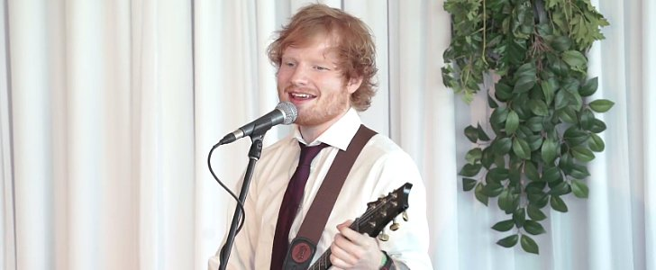 Ed Sheeran Crashes a Couple's Wedding in a Heart-Melting Moment