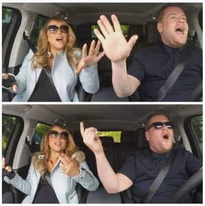 Mariah Carey Carpool Karaoke with James Corden