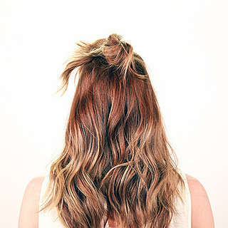 Half-Up Bun DIY