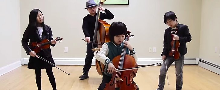 "Watch This Quartet of Tots Totally Master Michael Jackson's ""Smooth Criminal"""