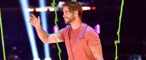 Liam Hemsworth Sports a Smile After He Avoids Being Slimed — Twice!