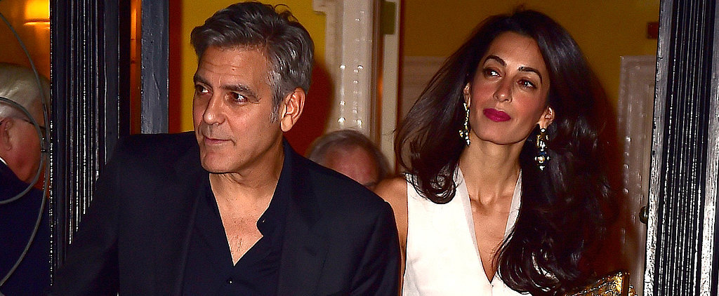 George Leads the Way For Amal on Their Picture-Perfect Date