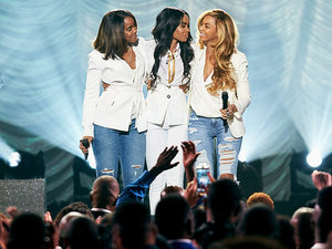 Destiny's Child Reunites For First Time in Years (VIDEO)