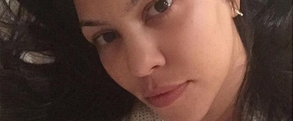 Kourtney Kardashian Sends Well Wishes to Her Fans With a Selfie