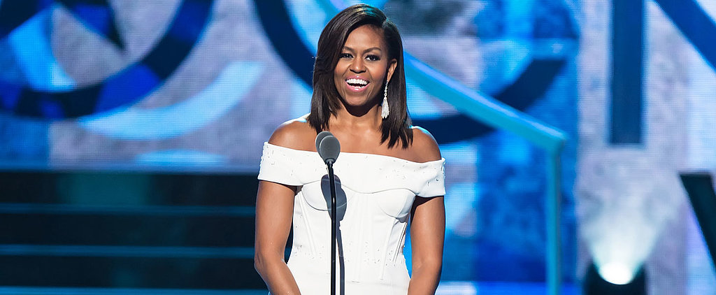Michelle Obama's Inspiring Speech Is All About Girl Power