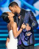 Will Smith Gets a Steamy Kiss