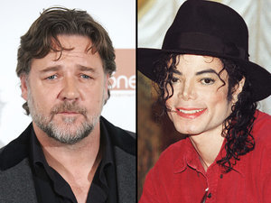 Russell Crowe Claims Michael Jackson Gleefully Prank-Called Him - for Years