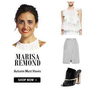 ShopStyle Autumn Shopping Picks Edited by Marisa Remond