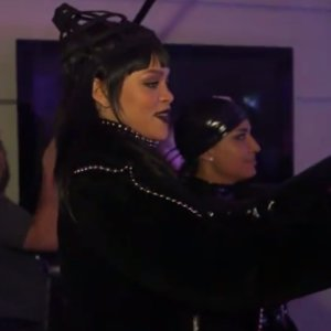 Rihanna April Fools Day Prank on Jimmy Kimmel 2015