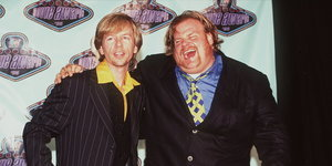David Spade Posts Touching Remembrance Of Chris Farley