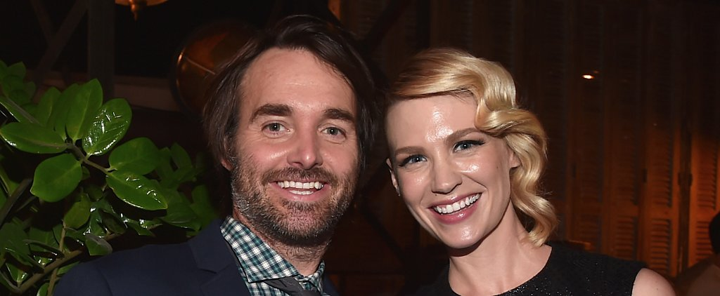 January Jones Is Dating Will Forte