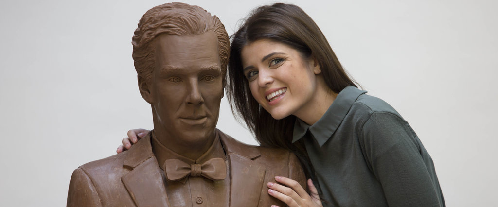 Behold the Chocobatch: A Life-Size Model of Benedict Cumberbatch Made of Chocolate