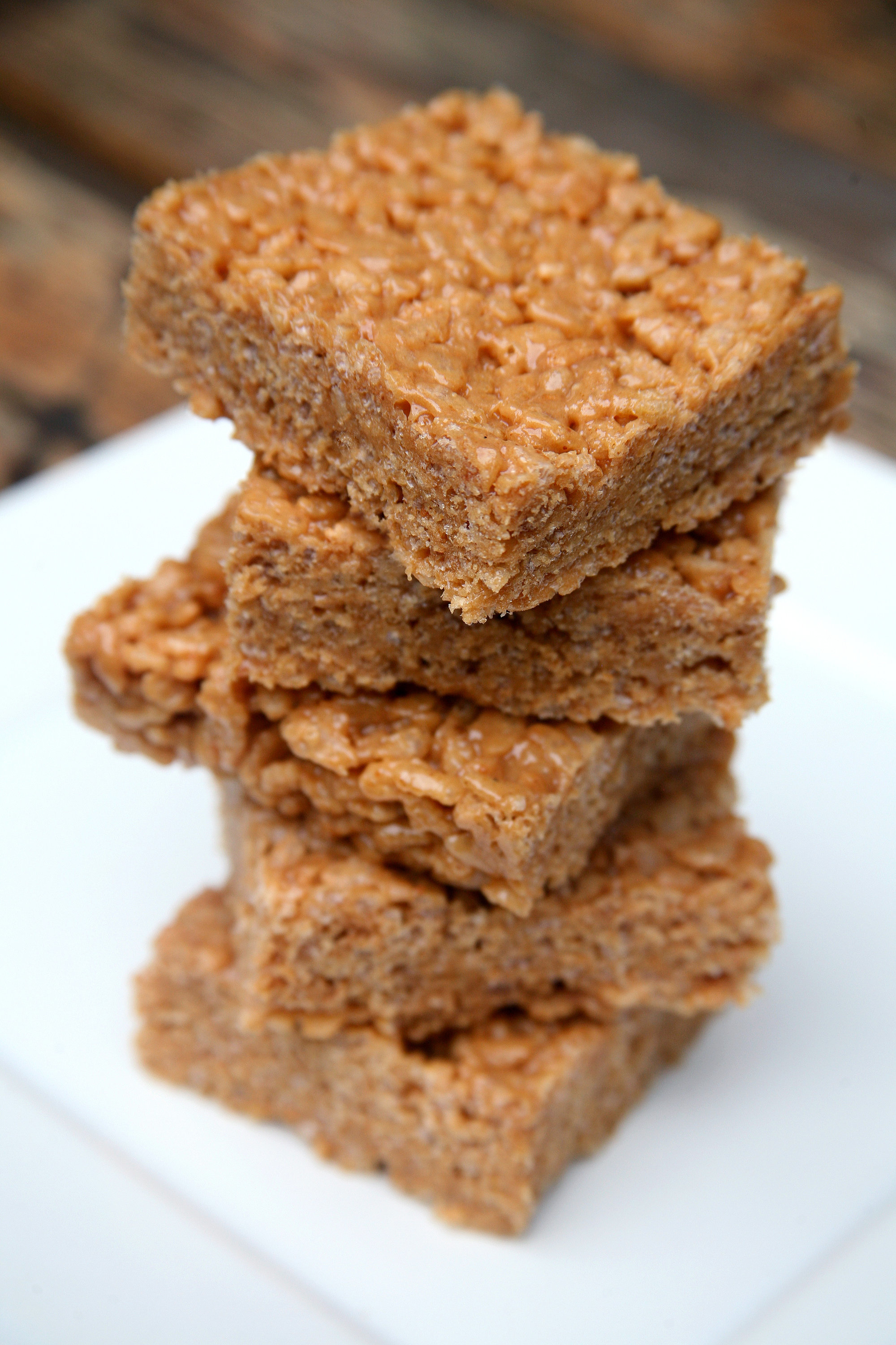 Peanut Butter Protein Rice Krispies Treats | 17 Homemade and Healthy ...