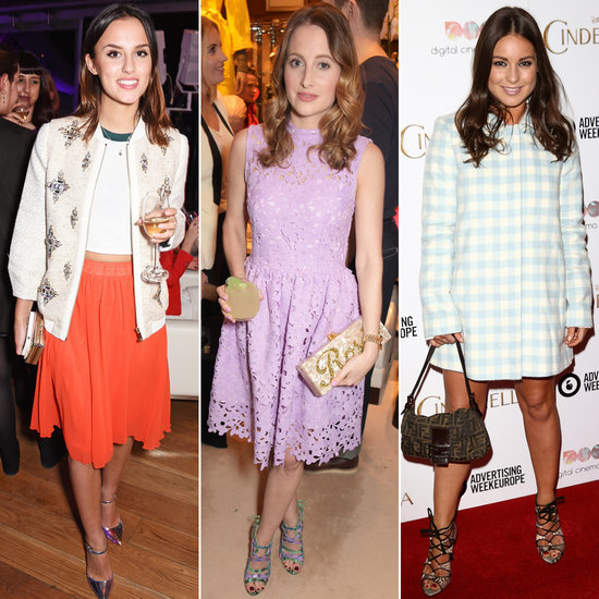 Made in Chelsea Fashion Photos | Rosie, Binky, Lucy, Millie