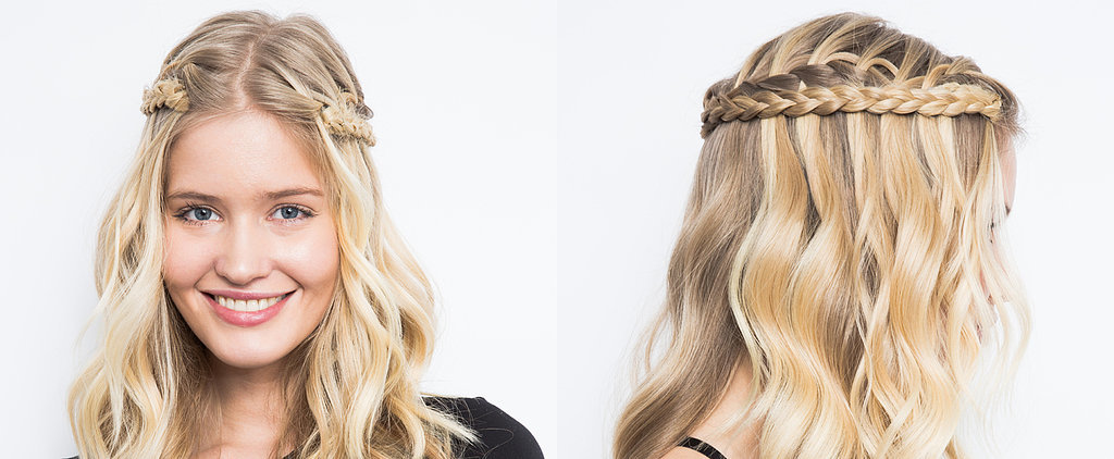 DIY the Waterfall-Braid Remix That's Perfect For a Summer Weekend