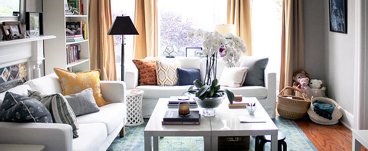 How This Designer Updated Her Home With Fabric and Paint