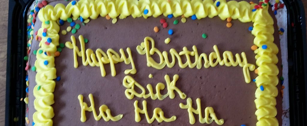 Was This Hilarious Birthday Cake Fail Actually on Purpose?