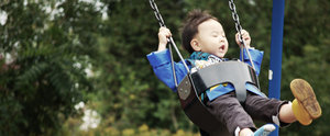 A Playground Swing That'll Literally Change the Way You See Your Child