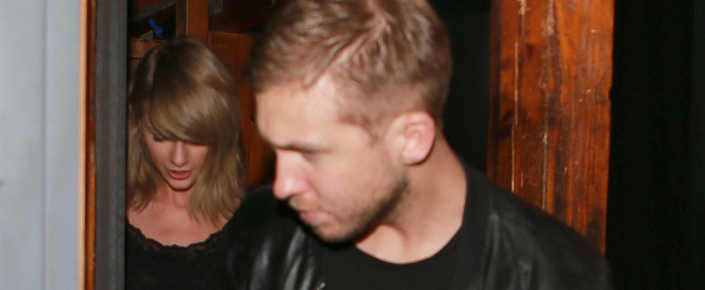Taylor Swift and Calvin Harris Hold Hands During Their Night Out