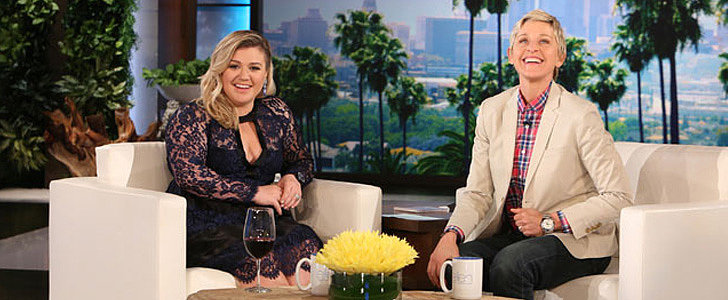 """Kelly Clarkson Talks Weight Criticism on Ellen — """"We Are Who We Are!"""""""