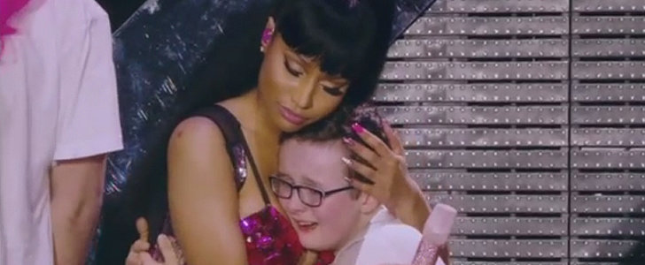 This 12-Year-Old Boy Was Blessed With the Power of Nicki Minaj's Cleavage