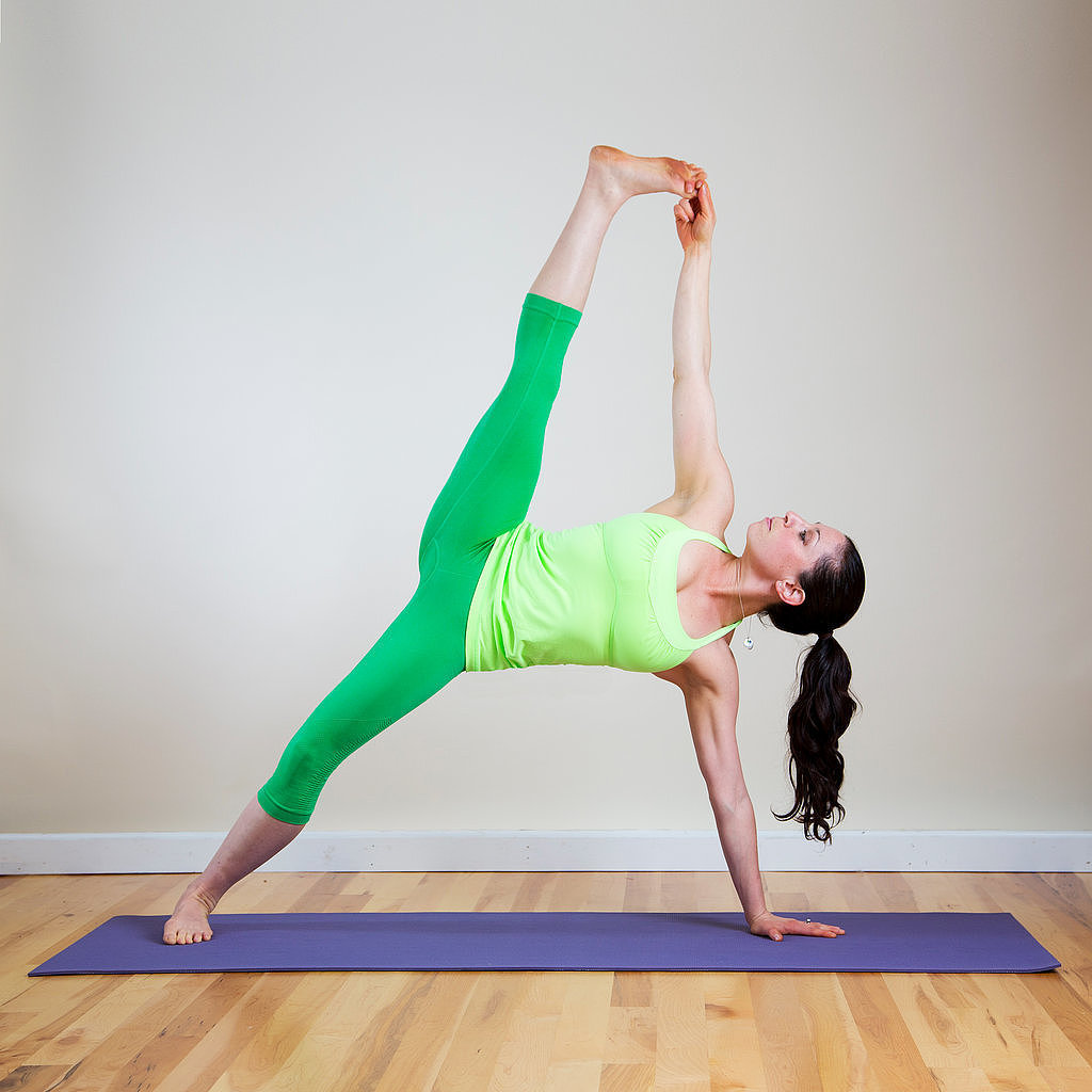 Yoga Sequence For Abs and Legs | POPSUGAR Fitness