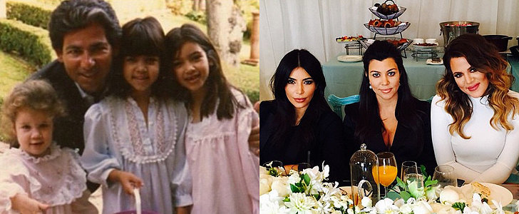 Oh, How the Kardashian Easter Sunday Outfits Have Changed