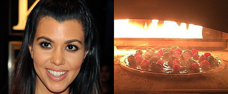 Kourtney Kardashian Makes Nutella Pizza, and You Should Too